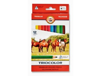 6998 1 pastelky triocolor koh i noor 3142 12 barev