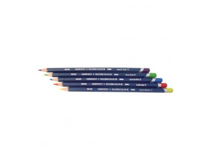7223 2 akvarelove pastelky derwent watercolour pencils 24 barev