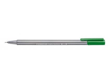 7376 1 staedtler triplus fineliner 334 0 3mm 52 mizni zelen