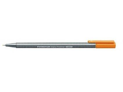 7409 1 staedtler triplus fineliner 334 0 3mm 7 svetle hneda