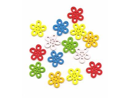 7454 dekorativni drevene kvety