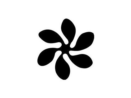 7994 ozdobna derovacka 25 mm kvetina