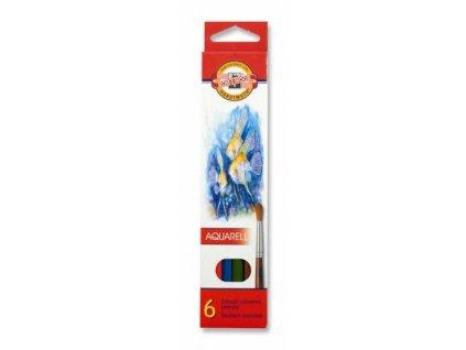 8183 1 akvarelove pastelky koh i noor 3715 sada 6 barev
