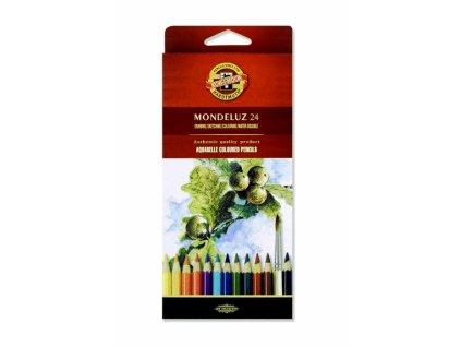 8195 1 akvarelove pastelky koh i noor 3718 mondeluz sada 24 barev