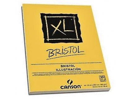8750 graficky blok canson xl bristol a3 180g 50 listu lepeny
