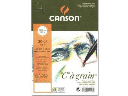 graficky papir canson cagrain blok lepeny a5 180g 30 listu