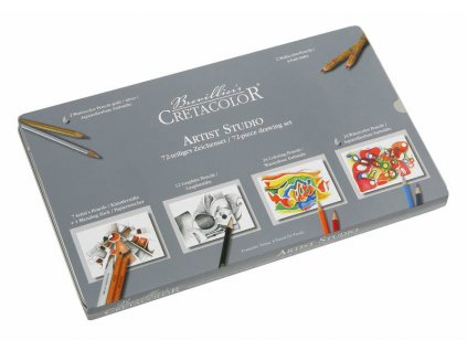 Cretacolor ARTIST STUDIO - 72 ks tužek a pastelek