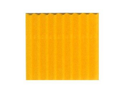 9182 vlnita lepenka 50x70 cm slunecni zluta