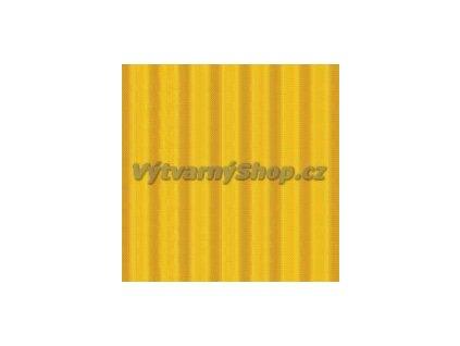 9185 vlnita lepenka 25x35 cm zluta