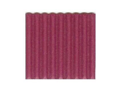 9206 vlnita lepenka 50x70 cm bordo