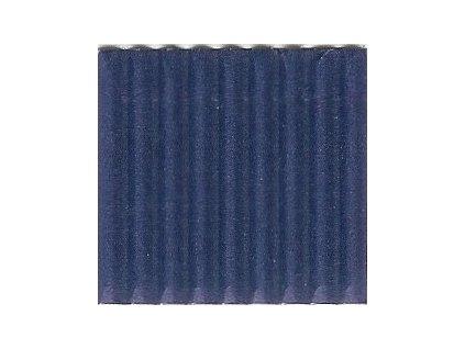 9224 vlnita lepenka 50x70 cm modra tmave