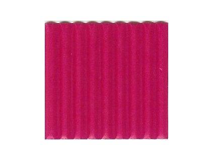 9254 vlnita lepenka 50x70 cm ruzova syta