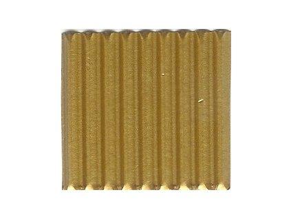 9278 vlnita lepenka 50x70 cm zlata matna