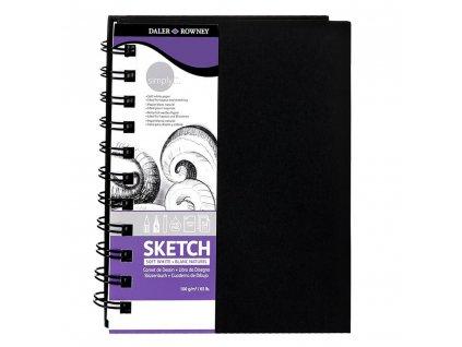 daler rowney sketchbook a6 105x148 cm