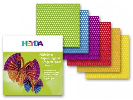 9818 origami 20x20cm 66 listu 70g puntik