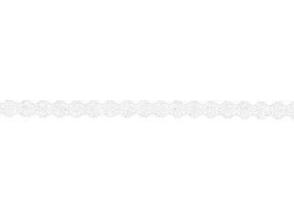 9827 krajka papirova samolepici 14 mm kvety