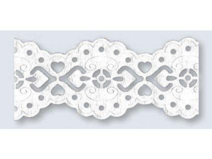 9839 1 krajka papirova samolepici 24 mm baroko