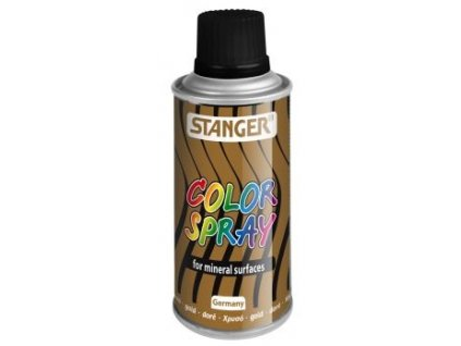 10100 akrylova barva ve spreji stanger color spray 150 ml zlaty