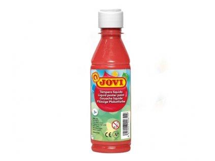 10115 jovi skolni temperova barva 250 ml cervena