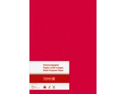10217 univerzalni papir a4 160 g cerveny