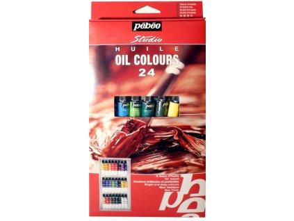10916 sada olejovych barev xl 24x12 ml