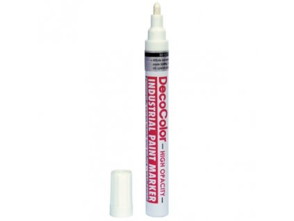 Marvy industrial paint marker 728 white