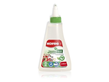 11186 univerzalni lepidlo kores uni glue eco 125 ml
