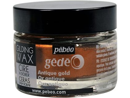 11321 gedeo zkraslovaci vosk 30 ml anticka zlata
