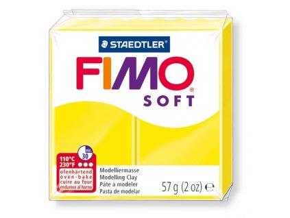 11414 fimo soft polymerova hmota 57g zluta 10