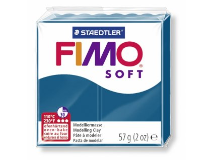 11432 fimo soft polymerova hmota 56g modr kalypso trend