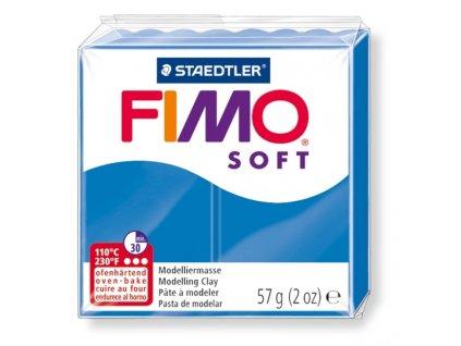 11441 fimo soft polymerova hmota 57g modra 37