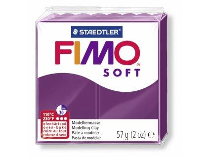 11474 fimo soft polymerova hmota 56g svetle fialova