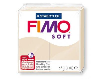 11480 fimo soft polymerova hmota 57g bezova 70