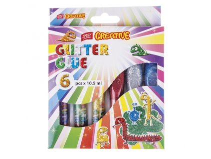 11738 glitrove lepidlo glitter glue easy 6x10 5 ml