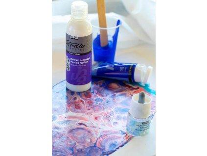 11762 akrylova barva pebeo studio acrylic 100 ml 022 kadmium zlute citronove