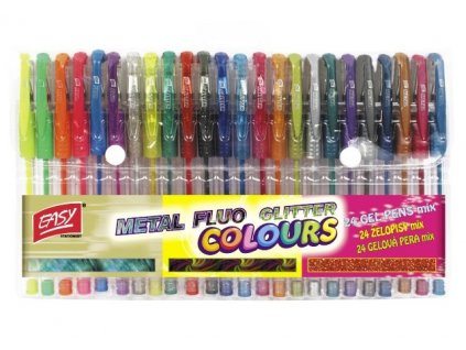 12257 1 gelova pera easy sada 24 barev