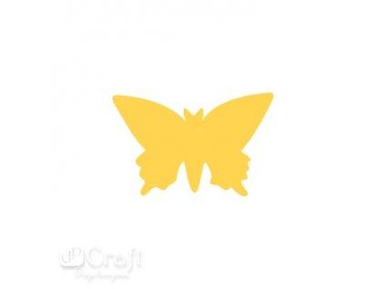 13610 ozdobna derovacka 3 7 cm motyl