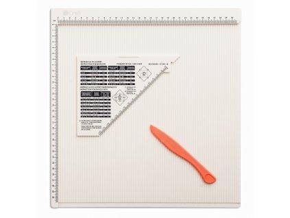 13658 deska na ohybani 30x30 cm kniharska kost plastova