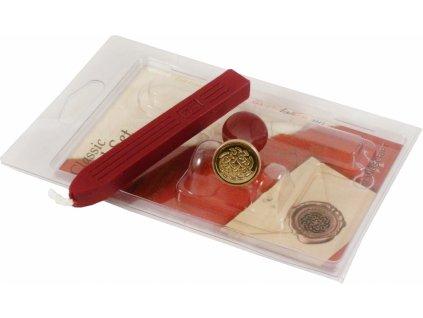 13853 4 pecet motiv keltska ruze vosk s knotem