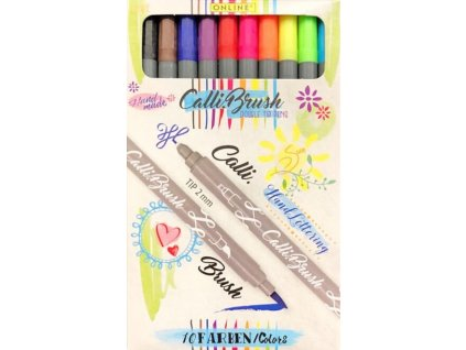 calli brush 10 colours