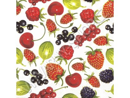 14870 ubrousek 33x33 cm summer fruits allover