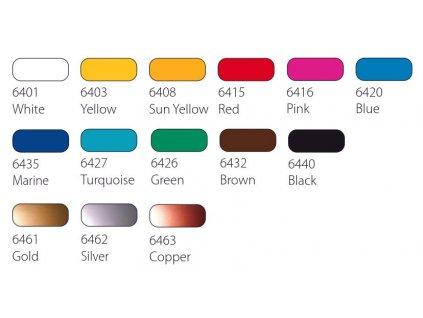 schjerning lino barva 250 ml zluta citron