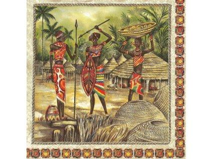 14936 ubrousek 33x33 cm africa