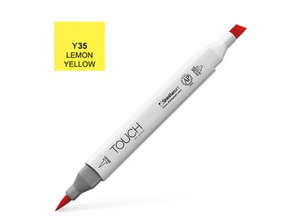15275 4 designersky fix touch brush 35 lemon yellow