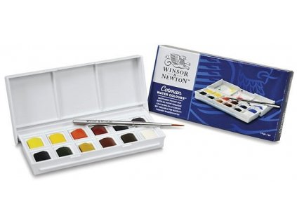 33984 akvarelove barvy cotman 12 barev kapesni sada 0390640