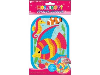 34080 mozaikovy obrazek ryba
