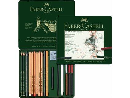 34143 pitt monochrome set 21 ks faber castell 112976