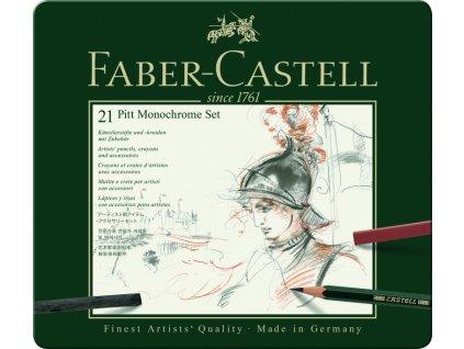 34143 1 pitt monochrome set 21 ks faber castell 112976