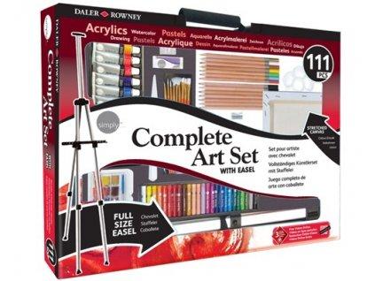 34416 sada pro vytvarniky daler rowney complete art set 111 ks