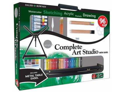 34419 sada pro vytvarniky simply complete art set stolni stojan 96 ks
